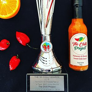 The Chilli Project Habanero & Orange Sweet Chilli Sauce