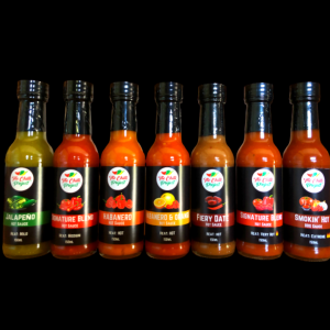 The Chilli Project 7 Sauce Collection