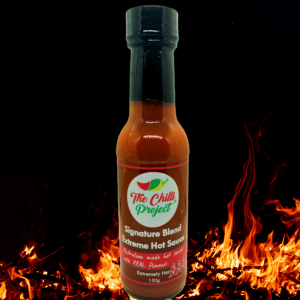 The Chilli Project Signature Blend Extreme Hot Sauce