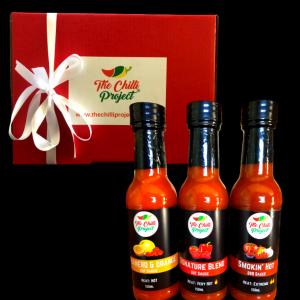 The Chilli Project Premium Sauce Gift Box