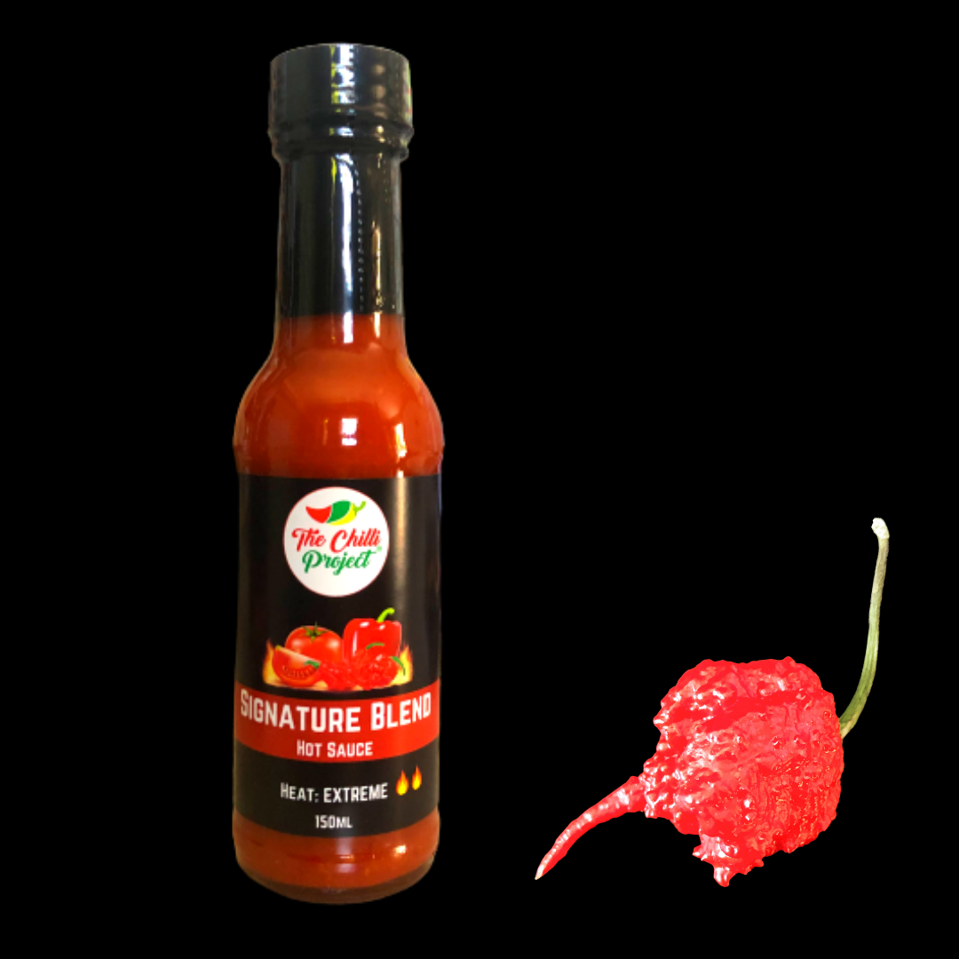 The world's hottest chilli in our sauce