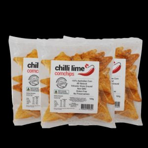 Chilli Lime Corn Chips ChilliBOM